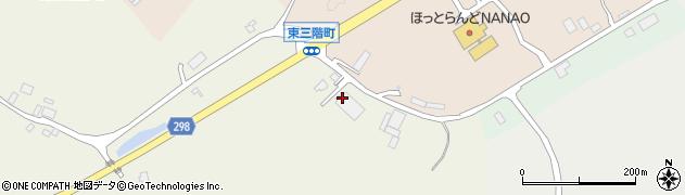 石川県七尾市東三階町(マ)周辺の地図