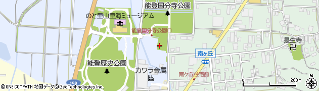 石川県七尾市国分町(リ)周辺の地図