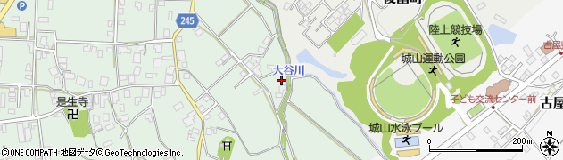 石川県七尾市古府町(つ)周辺の地図