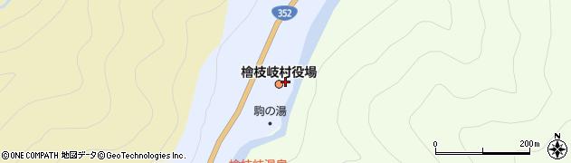福島県南会津郡檜枝岐村周辺の地図