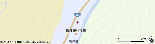 福島県檜枝岐村(南会津郡)周辺の地図