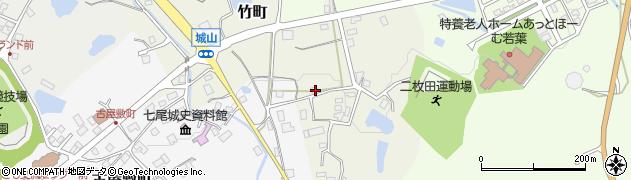 石川県七尾市竹町(ソ)周辺の地図