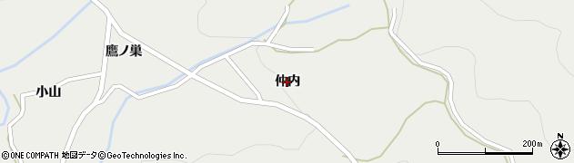 福島県いわき市遠野町深山田(仲内)周辺の地図