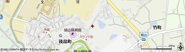 石川県七尾市後畠町(後畠山)周辺の地図