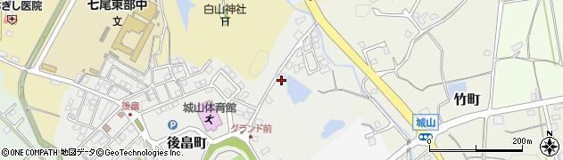 石川県七尾市後畠町(ロ)周辺の地図