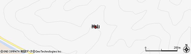 福島県いわき市田人町石住(神山)周辺の地図