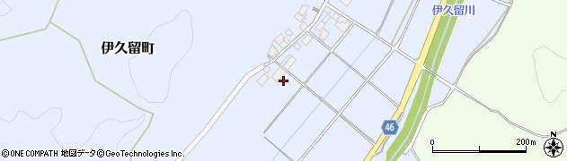 石川県七尾市伊久留町(ニ)周辺の地図