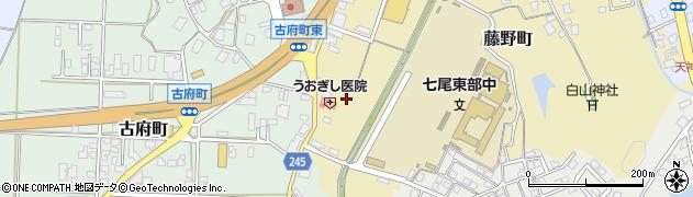 石川県七尾市藤野町(ハ)周辺の地図