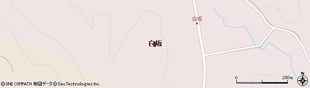 福島県いわき市遠野町上根本(白坂)周辺の地図