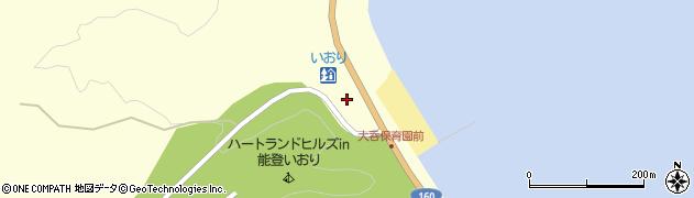 石川県七尾市庵町(笹ケ谷内)周辺の地図