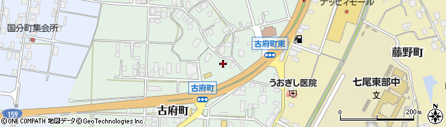 石川県七尾市古府町(ワ)周辺の地図