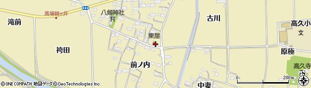 猪狩理容所周辺の地図