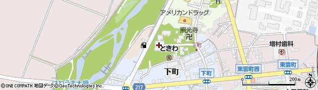 東本願寺新井別院周辺の地図