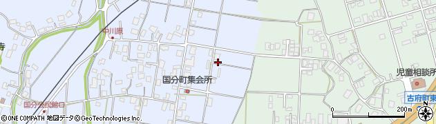 石川県七尾市国分町(ヨ)周辺の地図
