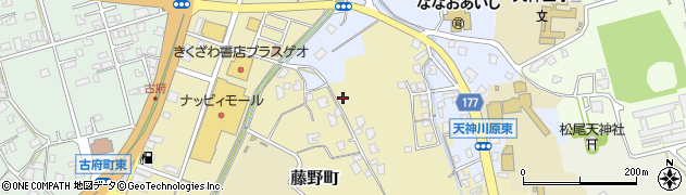 石川県七尾市藤野町周辺の地図