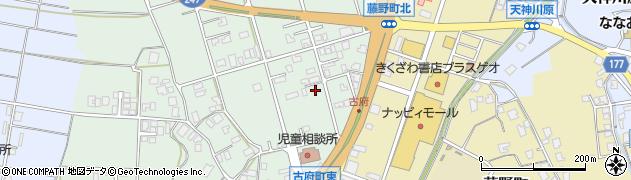 石川県七尾市古府町(レ)周辺の地図