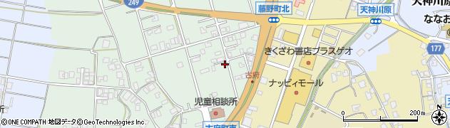 石川県七尾市古府町(れ)周辺の地図