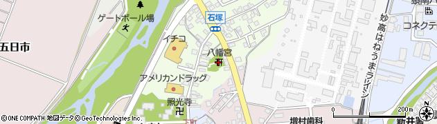 八幡宮周辺の地図