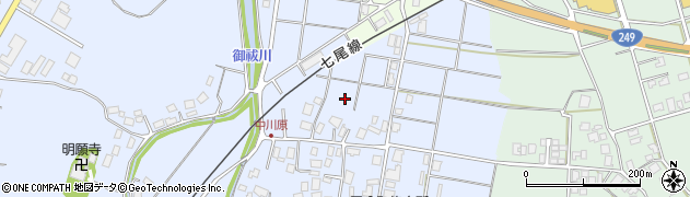 石川県七尾市国分町(カ)周辺の地図
