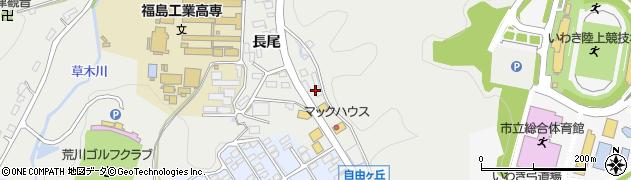 音楽有線放送USEN受付センターいわき支店周辺の地図