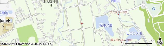 石川県七尾市矢田町周辺の地図