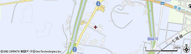 石川県七尾市国分町(井)周辺の地図