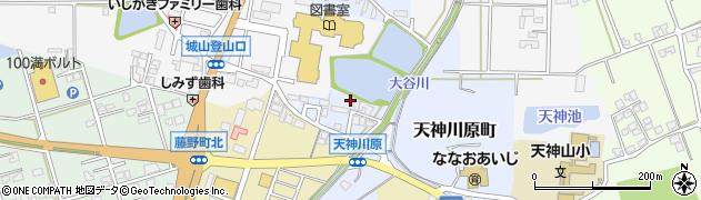 石川県七尾市天神川原町(ヲ)周辺の地図