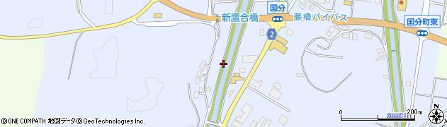 石川県七尾市国分町(ウ)周辺の地図