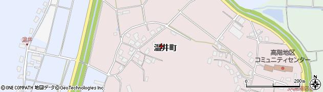 石川県七尾市温井町(チ)周辺の地図