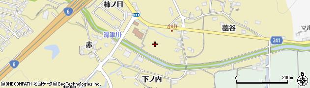 福島県いわき市平中山(小山)周辺の地図