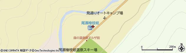 福島県檜枝岐村(南会津郡)見通周辺の地図
