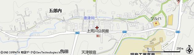 福島県いわき市平上荒川(桜町)周辺の地図