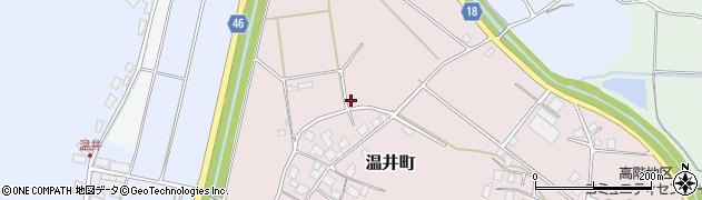 石川県七尾市温井町(と)周辺の地図