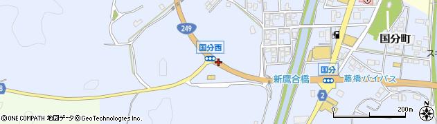 石川県七尾市国分町(シ)周辺の地図