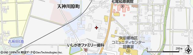 石川県七尾市本府中町(ル)周辺の地図