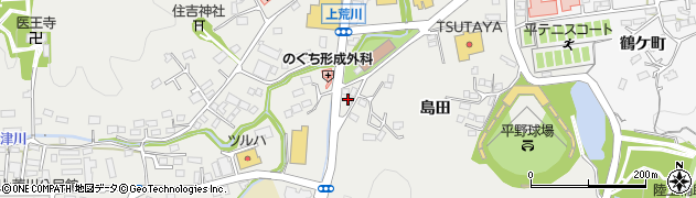 アフラック 募集代理店・パス・アイいわき中央店業務係周辺の地図