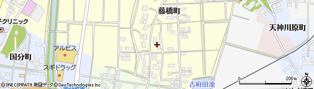 石川県七尾市藤橋町(子)周辺の地図