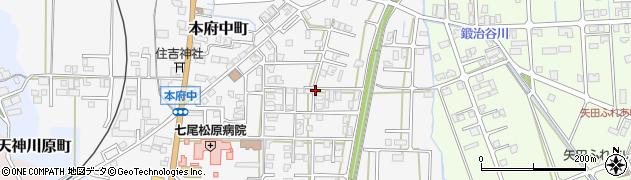 石川県七尾市本府中町(ヨ)周辺の地図