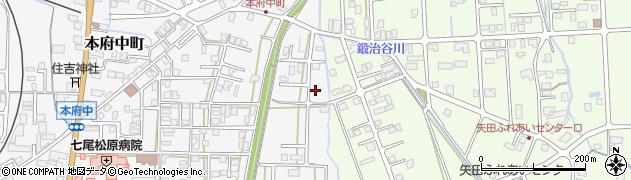 石川県七尾市本府中町(サ)周辺の地図