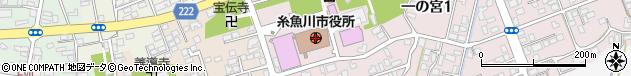 新潟県糸魚川市周辺の地図