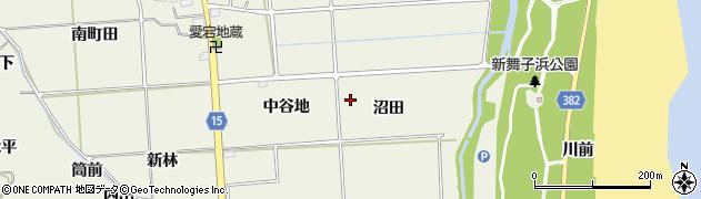 福島県いわき市平藤間(沼田)周辺の地図
