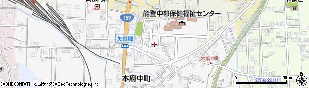 石川県七尾市本府中町(ヒ)周辺の地図