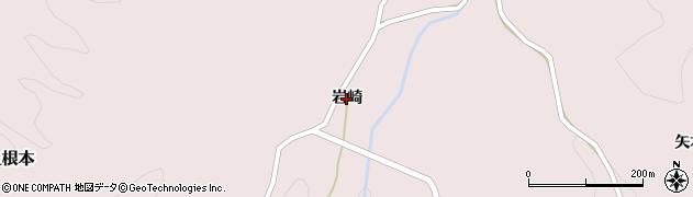 福島県いわき市遠野町上根本(岩崎)周辺の地図