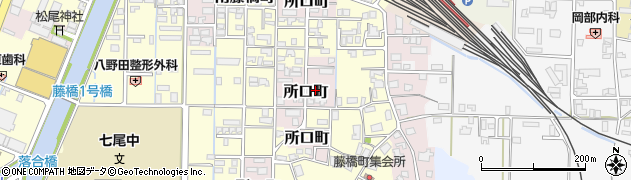 石川県七尾市所口町(レ)周辺の地図