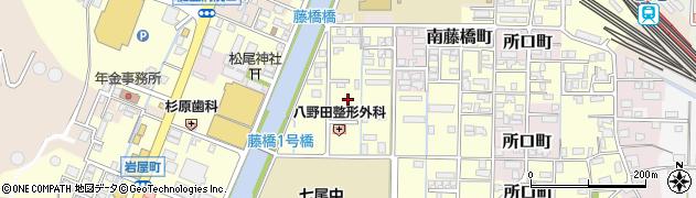 石川県七尾市藤橋町(巳)周辺の地図