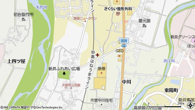 〒944-0006 新潟県妙高市稲塚の地図
