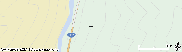 福島県檜枝岐村(南会津郡)下見通周辺の地図