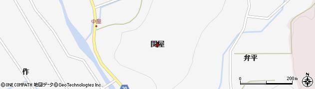 福島県いわき市遠野町入遠野(関屋)周辺の地図