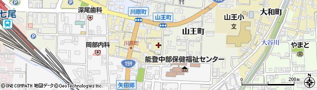 石川県七尾市上府中町(ソ)周辺の地図
