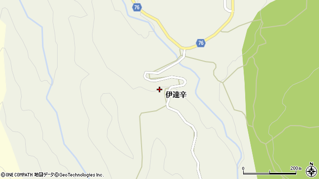 〒949-8544 新潟県十日町市当間の地図